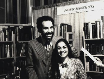 Anne and David Bromer in 1977