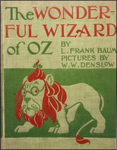 First edition of The Wonderful Wizard of Oz by L. Frank Baum