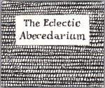 THE ECLECTIC ABECEDARIUM, Edward Gorey, regular edition