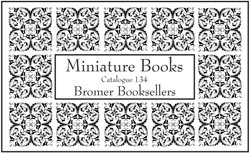 Catalogue 134: Miniature Books