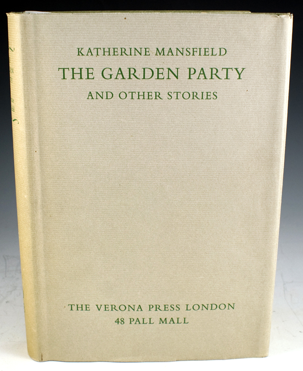 mansfield the garden party Full online text of the garden party by katherine mansfield other short stories by katherine mansfield also available along with many others by classic and contemporary authors.