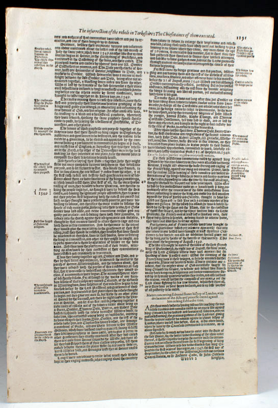 A Leaf History of British Printing From 1610 to 1774. Geoffrey Wakeman.