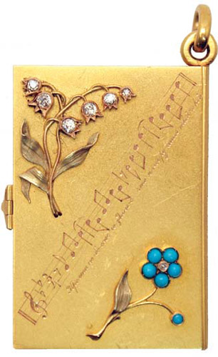 Russian Gold Book. Anonymous.