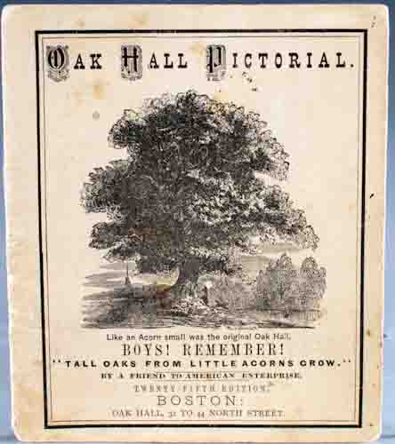 Oak Hall Pictorial. George W. Simmons.