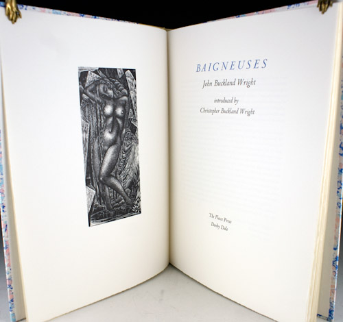 Baigneuses. Introduced by Christopher Buckland Wright. Christopher Buckland Wright.