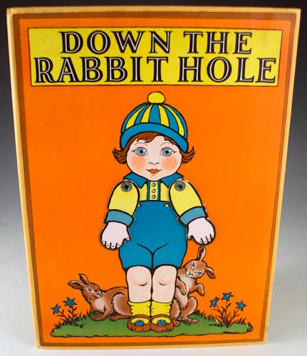 Down the Rabbit Hole. Gertrude Crownfield.