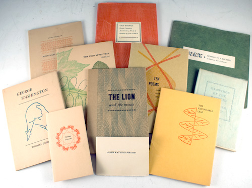 Group of Katydid Press books.