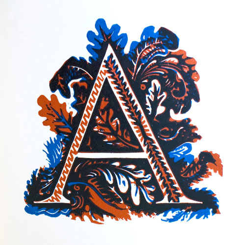Picture Alphabet, with Quotations in Praise of Print. Hellmuth Weissenborn.