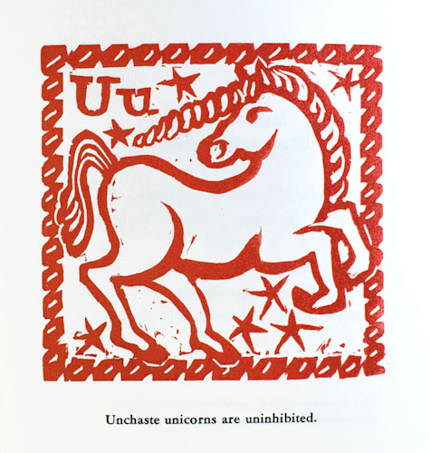 An Alliterative Alphabeastiary: Animals, Activities, Names, and Nonsense. Marion A. Baker.