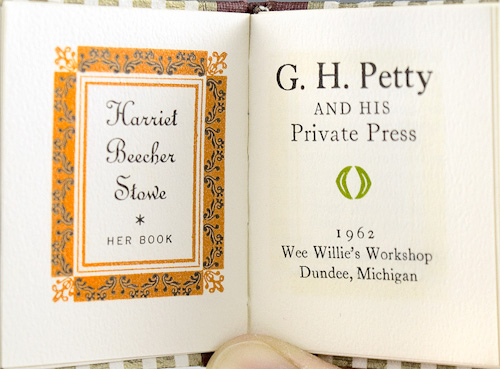 G.H. Petty and His Private Press.