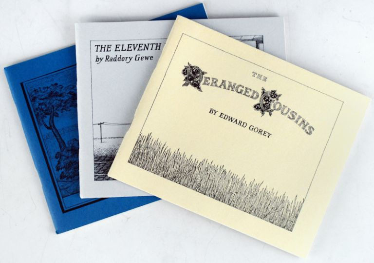 Three Books from the Fantod Press (III). Edward Gorey.