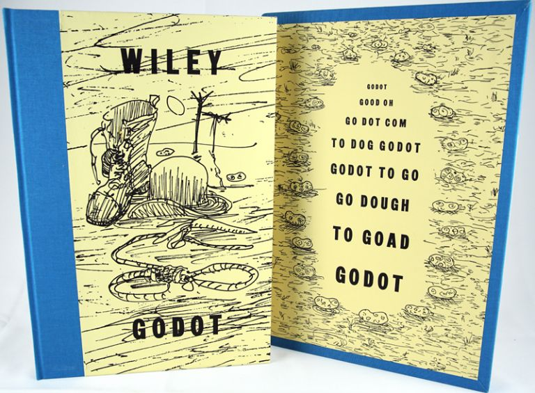 Godot. An Imaginary Staging by William T. Wiley of Waiting for Godot by Samuel Beckett. William T. Wiley.