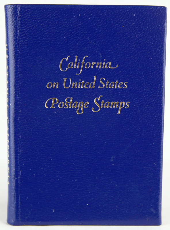 California on United States Postage Stamps. Francis J. Weber.
