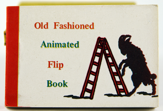 Old Fashioned Animated Flip Book.