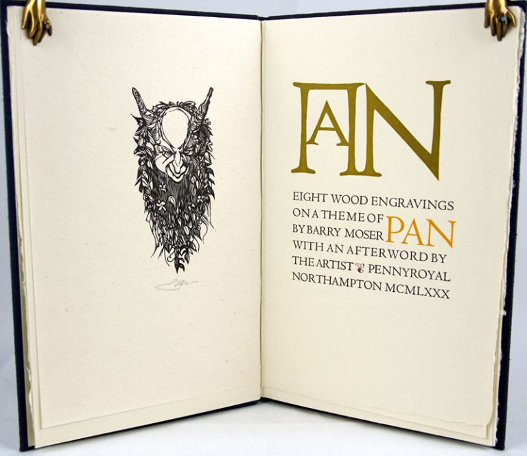Eight Wood Engravings on a Theme of Pan. Barry Moser.