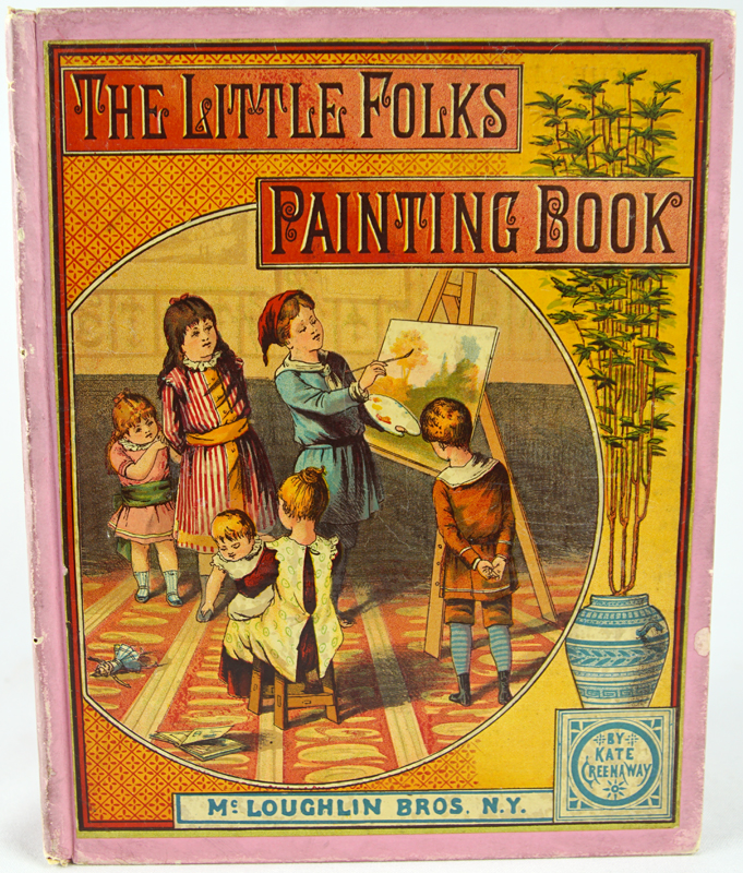 The Little Folks' Painting Book.