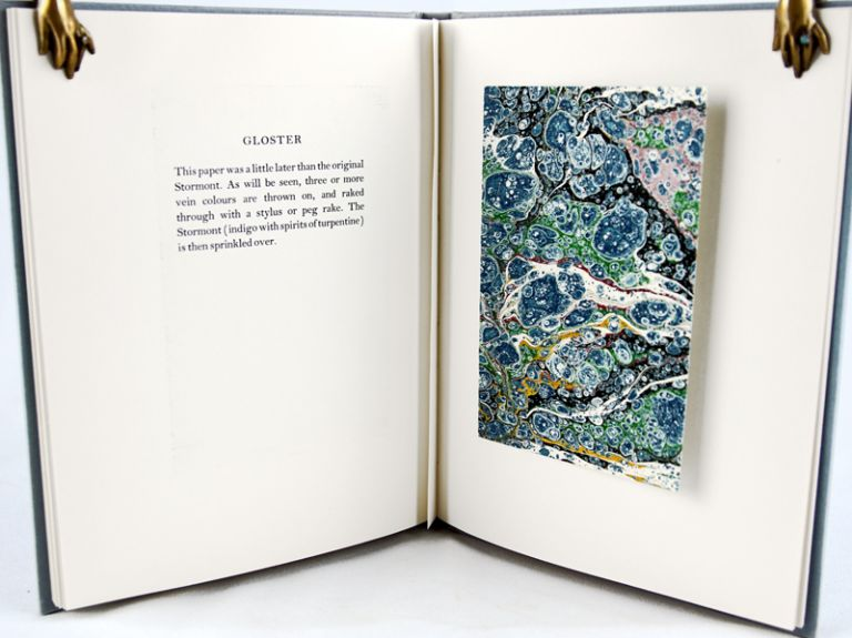 The Principal Antique Patterns of Marbled Papers. Anne Chambers.