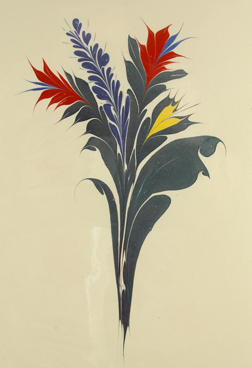Large Flower with Clear Background. Christopher Weimann.