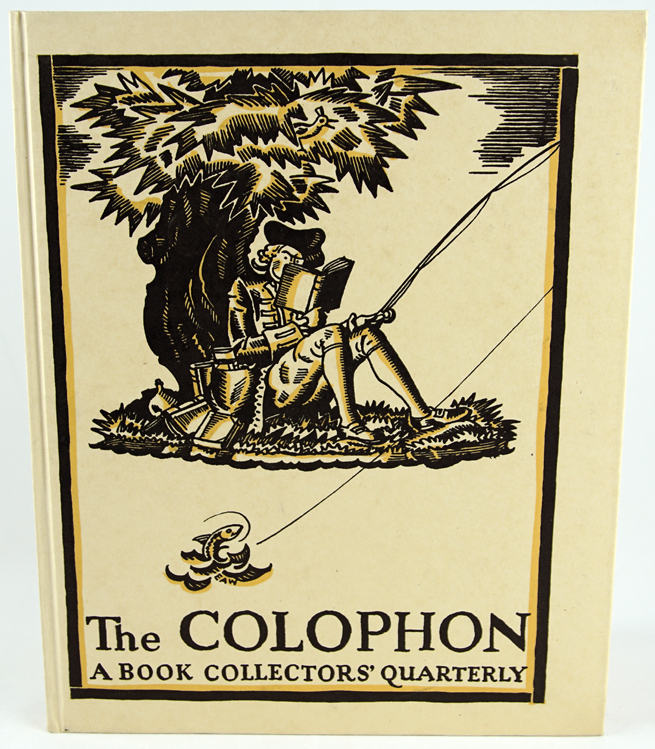 The Colophon: A Book Collector's Quarterly; The Colophon New Series; The Colophon New Graphic Series; The Annual of Bookmaking; and The New Colophon.