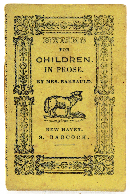 Hymns in Prose for Children. Barbauld Mrs, Anna Laetitia.
