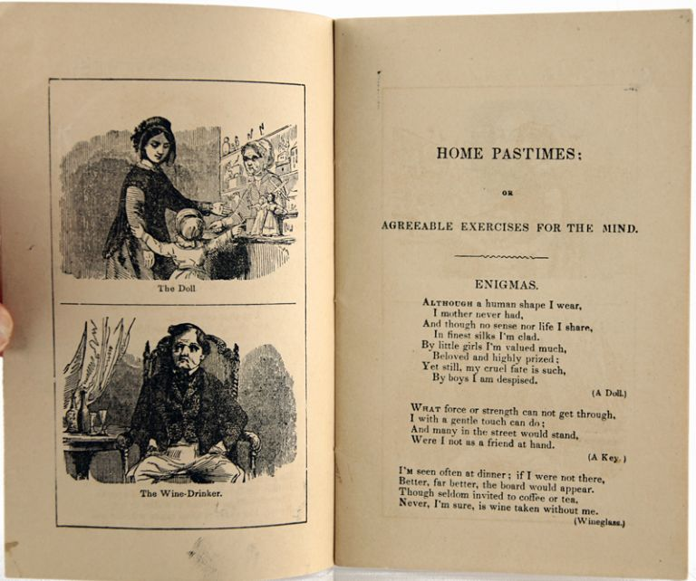 Home Pastimes; or Agreeable Exercises for the Mind, Consisting of Enigmas, Charades, Conundrums, Etc.