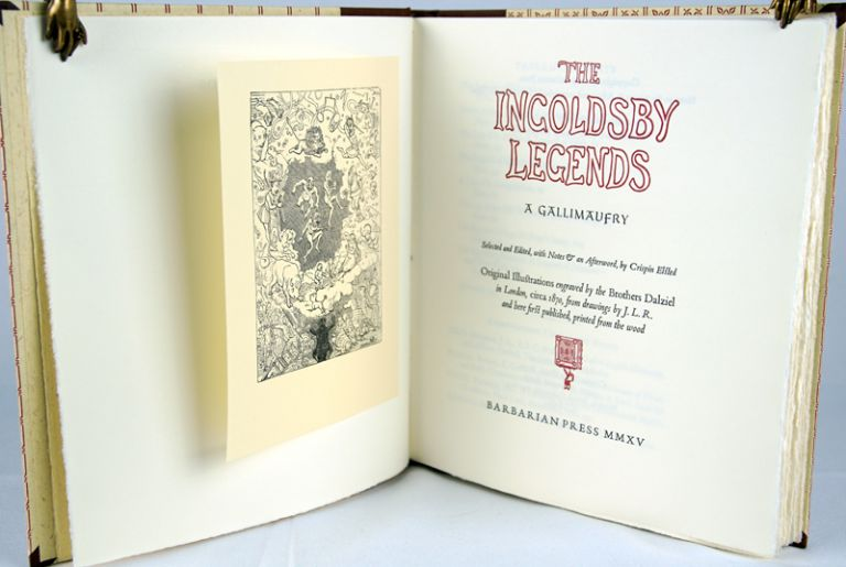 The Ingoldsby Legends: A Gallimaufry. Richard H. Barham.