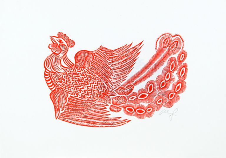 The Birds and the Animals. Wang Hui-Ming.