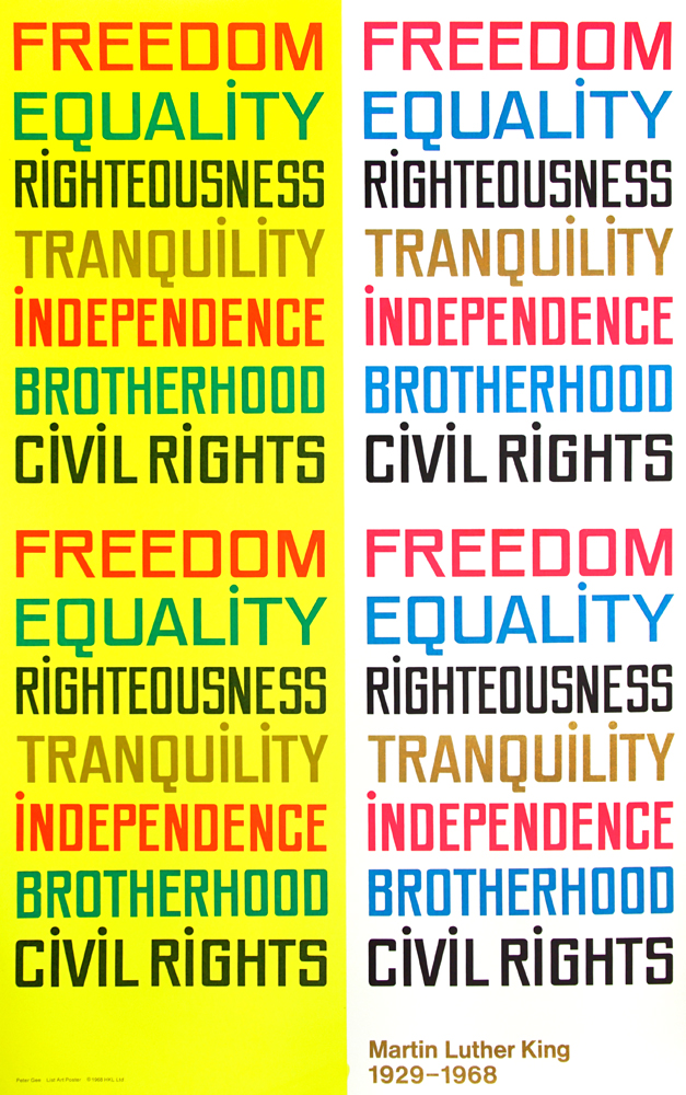 Freedom and Equality. Martin Luther King Jr.