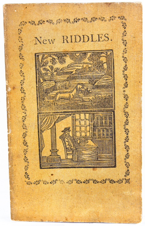 A New Riddle Book, or a Whetstone for Dull Wits.