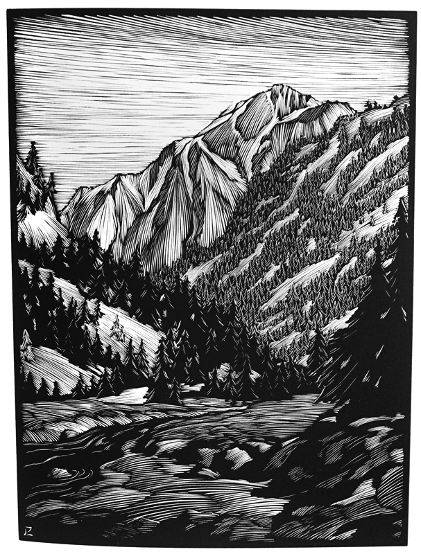 California Hills and Other Wood Engravings. Arthur Miller.