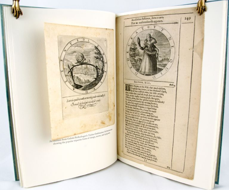 Labour, Vertue, Glorie: Leaves from the Emblem Books of Gabriel Rollenhagen and George Wither.