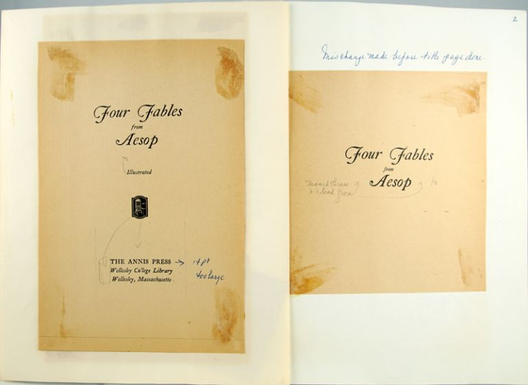 Saga of the Four Fables from Aesop.