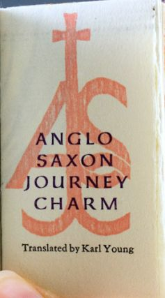 Anglo Saxon Journey Charm.
