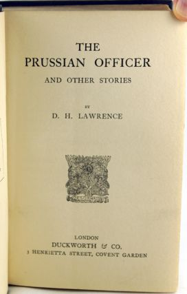 The Prussian Officer.