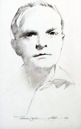 Portrait of Truman Capote. Barry Moser