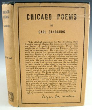 Chicago Poems. Carl Sandburg.