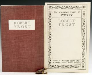 The Augustan Books of Poetry. Robert Frost.