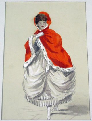 Hand-colored Ladies' Costumes with Transferable Head.
