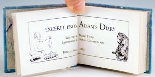 Excerpts from Adam's Diary.