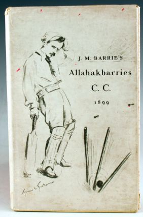 Autograph letter, signed. Together with: The Allahakbarries C. C.