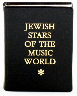 Jewish Stars of the Music World. József Mautner