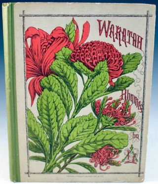 Waratah Rhymes for Young Australia. Louisa A. Meredith