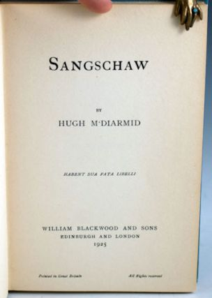 Sangschaw; together with Penny Wheep.