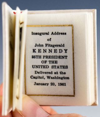 The Inaugural Address.
