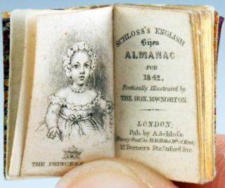 Schloss's English Bijou Almanac for 1842. Poetically Illustrated by the Hon. Mrs. Norton. Caroline Norton.