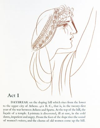 Lysistrata, by Aristophanes. A New Version by Gilbert Seldes.