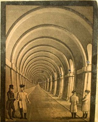 An Explanation of the Works of the Tunnel Under the Thames from Rotherhithe to Wapping.