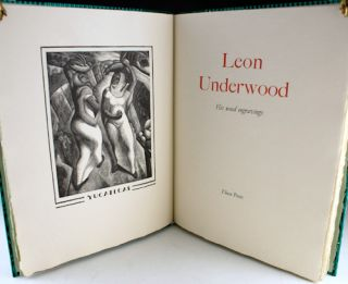 Leon Underwood: His Wood Engravings.