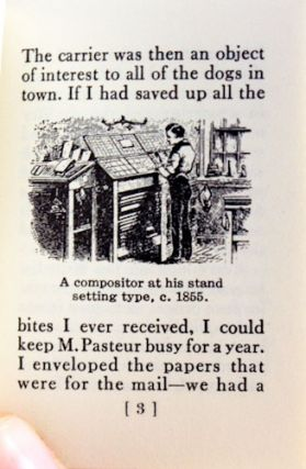 The Old-time Printer.