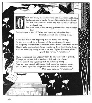 The Raven by Quarles. Edgar Allan Poe.